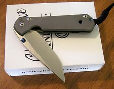 CHRIS REEVE New Large Sebenza 21 Plain Edge S35VN Blade Knife/Knives