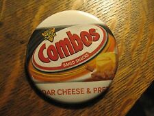 Combos Baked Snack Pretzel Cheddar Cheese Logo Advertisement Pocket Mirror