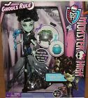 Monster High Ghouls Rule FRANKIE STEIN Doll w/ COSTUME Daughter of Frankenstein