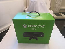 MICROSOFT XBOX ONE 1TB VIDEO GAMES GAMING CONSOLE WIRELESS  HD TV BLACK*BOXED*UK