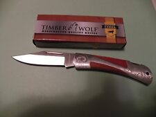 "Timber Wolf Navaho Folding Knife 7.5"" with 3.25"" Blade (New) TW84"