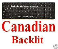 Lenovo Ideapad Y580 Y580-CF-E Keyboard - CA Canadian Backlit 25207372 25203130
