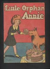 Little Orphan Annie  Popped Wheat Promotional Promo Premium comic Strip