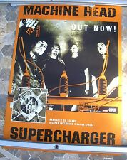MACHINE HEAD Supercharger 2001 promo poster 24 x 16 original