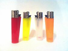 CLIPPER Cool Color New Brand Full Size Many Refillable Original Lighters 4pcs