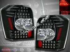 2006 07 08 09 10 DODGE CALIBER BLACK LED TAIL LIGHTS