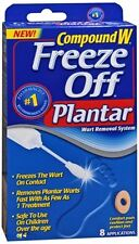Compound W Freeze Off Plantar 8 Each (Pack of 6)