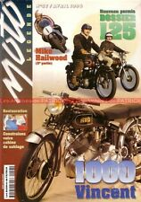 MOTO LEGENDE  57 HONDA GL 1000 Gold Wing K3 VINCENT VELOCETTE 350 500 YAMAHA AT1