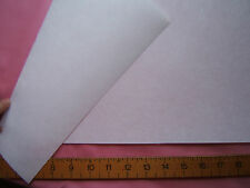 3m multiples x 300mm Heavy Fusible Iron On White Buckram Craft Interfacing