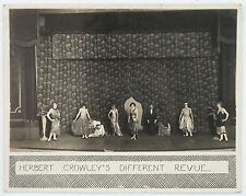 1928 Herbert Crowley's Different Review Female Impersonators Original Photograph