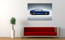 BLUE BENTLEY GT STUDIO NEW GIANT LARGE ART PRINT POSTER PICTURE WALL