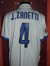ZANETTI INTER 2009/2010 MAGLIA SHIRT CALCIO FOOTBALL MAILLOT JERSEY SOCCER