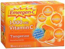 Emergen-C Vitamin C Drink Mix Packets Tangerine 30 Each (Pack of 4)