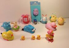 Easter Bunny Eggs Ducks Wind Up Toy Lot Of 12 Russ Holidays Spring Cute Vintage