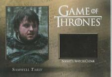 "Game of thrones saison 5-CC2 ""Samwell"" night watch cloak relic card #145/250"