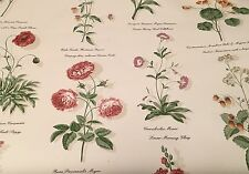 Waverly Wallpaper Pink Floral White #5504212 Run 32748 of 6 Double Rolls New