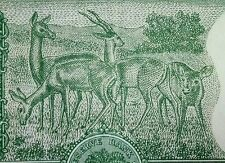 GEM UNC 5 (FIVE) RUPEES 4 DEER NOTE OF S.JAGANNATHAN.