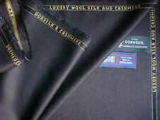 "DORMEUIL ""DORSILK & CASHMERE"" LUXURY SUITING FABRIC - 3.33 m. - MADE IN ENGLAND"