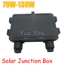 70W-130W Solar Junction Box  IP65 for Solar Panel Connect PV Junction Box