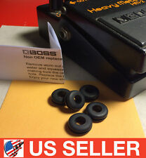 BOSS HM-2 Heavy Metal Universal Rubber Grommet O-Ring Pedal Stop 5pc Upgrade Kit