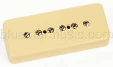 Mighty Mite P90-F P-90 Single Coil Soapbar Guitar Neck Pickup, Cream, NEW!