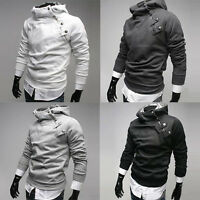 NEW XMAS Mens Winter Slim Fit Sexy Top Designed Hoodies Jackets Coats XS S M L