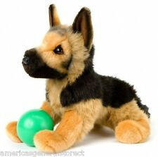 "GENERAL Douglas Cuddle Toy plush 14"" GERMAN SHEPHERD stuffed animal dog *no ball"