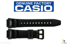 CASIO SGW-300H-1AVH Original 18mm Black Rubber Watch BAND Strap SGW-400H-1BVH