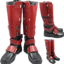 Popular X-men Deadpool Cosplay Boots Shoes Superhero Helloween Handcrafted New