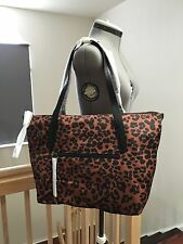 NWT Cole Haan B43027 Large Tote Parker Woodbury Animal Cheetah Leopard Print