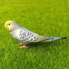 Budgie Parakeet Budgerigar Parrot Bird Fairy Garden Terrarium Decor Figurine Toy