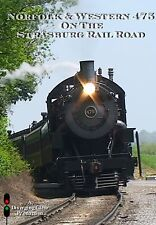 Railroad DVD: Norfolk & Western 475 On The Strasburg - Includes ride on freight