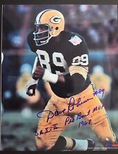 DAVE ROBINSON 2013 HOF Packers PSU Autographed 8x10 Signed NFL Photo 16D