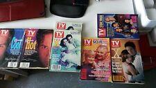 1994-96 Star Trek/Sci-fi / X-files TV guide lot of 7