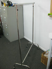 1 TIER  STAINLESS STEEL CLOTHING RACK
