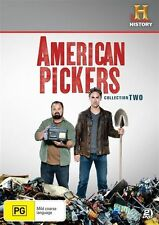 American Pickers : Season 2 (DVD, 2-Disc Set) NEW & SEALED ~Fast Shipping ~Reg.4