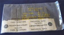 (50 Pcs)  AB 300 Ohms 5% 1/4W Carbon Comp Resistors