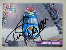 Ted Musgrave Autographed 1998 Maxx Memorable Moments Racing Card