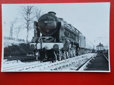 PHOTO  LMS ROYAL SCOT (SCOT) 4-6-0 46140 THE KING'S ROYAL RIFLE CORPS