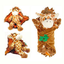Travel Security Baby Giraffe Blanket Stuffed Animal Plush Toy Jirafa de Peluche