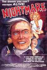 Nightmare 1981 Poster 01 A3 Box Canvas Print