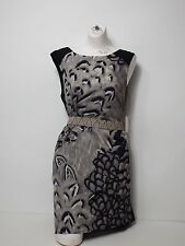Women Dresses Jessica Simpson Size 4 Sleeveless black and Grey Full Zipper