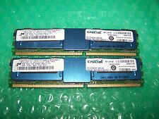 8GB Crucial PC2-5300F DDR2  667MHz Fully Buffered FBDIMM (2x 4GB) for Servers