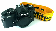 Pro Choice Nikon FM2N SLR 35 Body, Cool Black + Strap & Cap . 'MINT-' Condition.