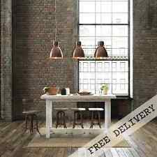 Rustic Wooden Kitchen Island 8 Seater White High Bench Bar Table Free Delivery