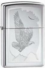 Zippo 21069 lighter birds of prey chrome