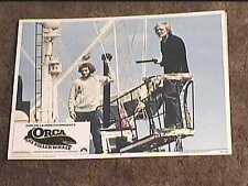 ORCA KILLER WHALE 1977 LOBBY CARD #7 HORROR JAWS