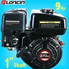 Loncin G270F-P 9Hp Stationary Engine replaces Honda GX270 pump welder generators