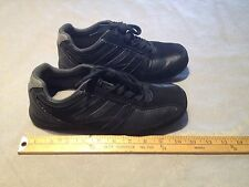 PERRY ELLIS AMERICA SWAGGY WIDE Men's Leather Lace Up Shoes US 7.5W Black