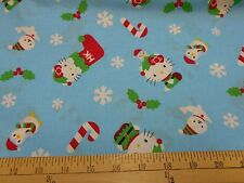 "1 Yard Hello Kitty ""Christmas Toss""  Fabric"